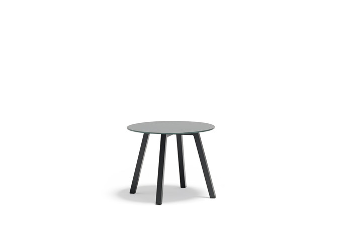 Tiki Outdoor Aluminium and Tempered Glass Side Tables -  small