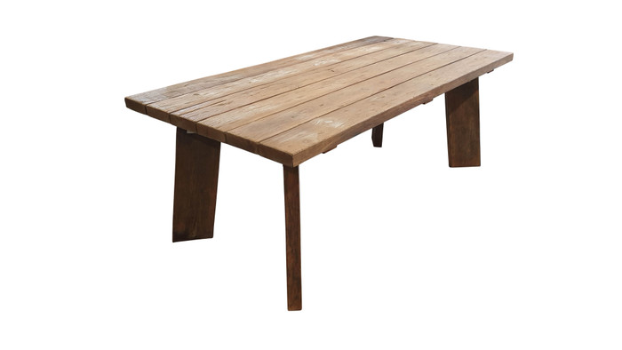 Pure Harvest reclaimed teak outdoor table 220x100cm