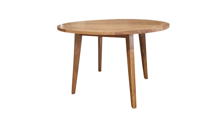 Oslo teak 120cm diameter outdoor dining table
