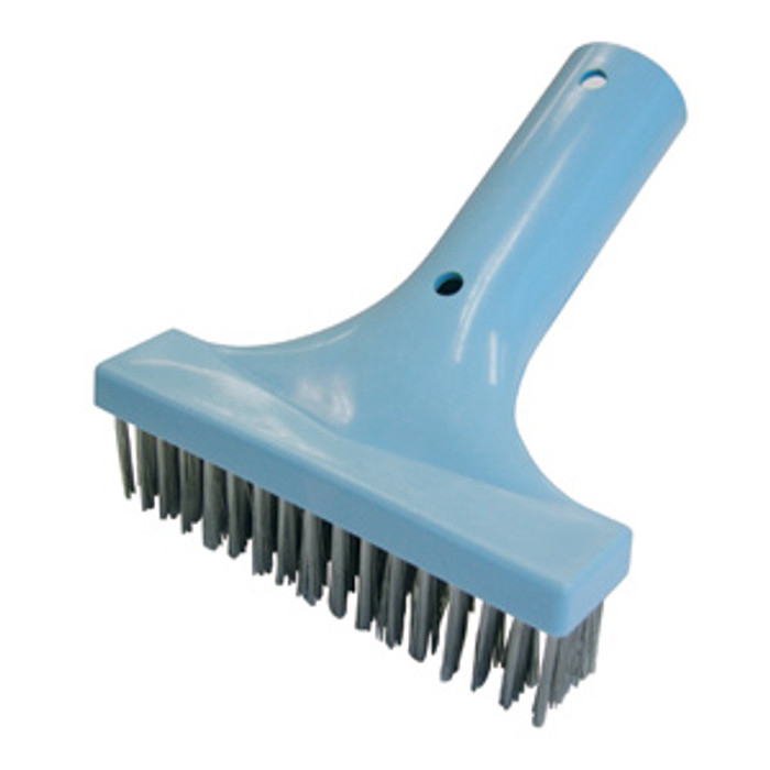 "pool stainless steel 6"" brush"