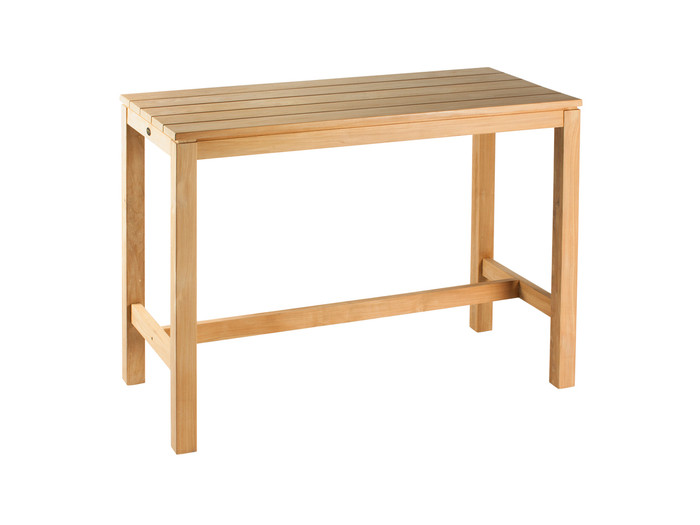 Devon Haast rectangular teak bar table