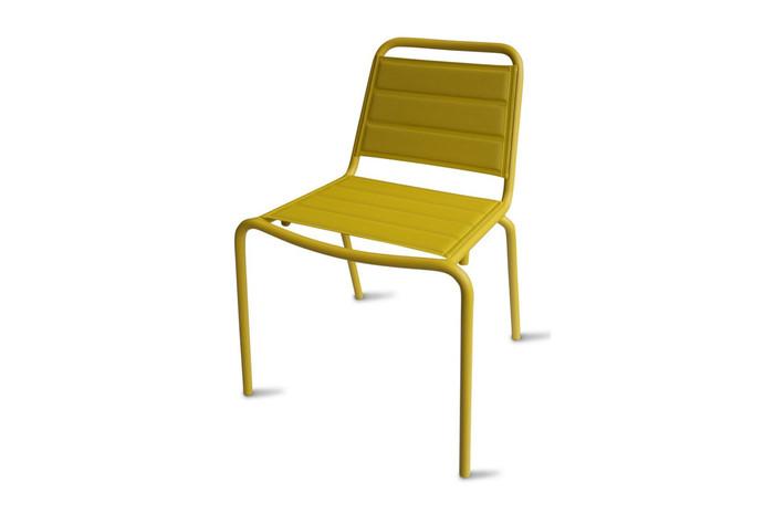Maiori Vega outdoor aluminium side chair