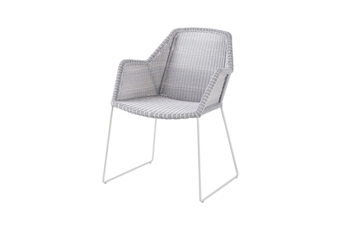 Breeze Dining Chair - 2 ONLY LEFT IN PALE GREY