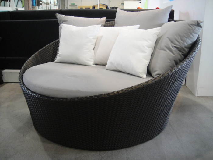 shown with optional scatter cushions in white