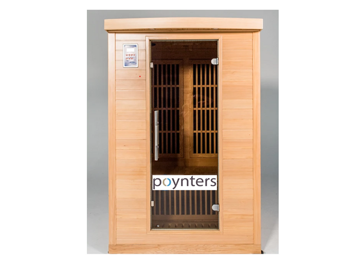 Miami low EMF 2 person infrared sauna