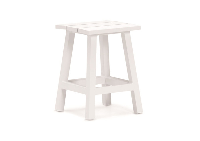 Messina outdoor stool/table aluminium