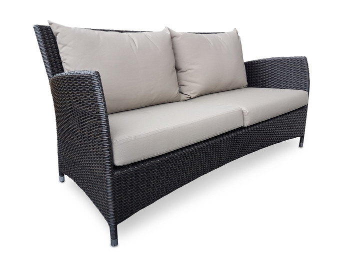 Madrid outdoor sofa - 6mm weave wicker