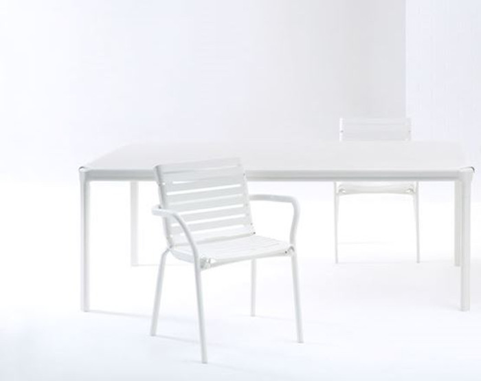 Maiori AT800 series outdoor dining table 200x100