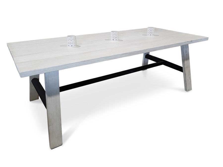 Morotai Aged Teak Outdoor Dining Table - 2 Sizes
