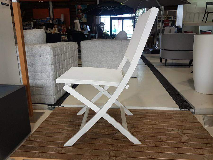 Rosie Folding Sling & Aluminium Outdoor Chair