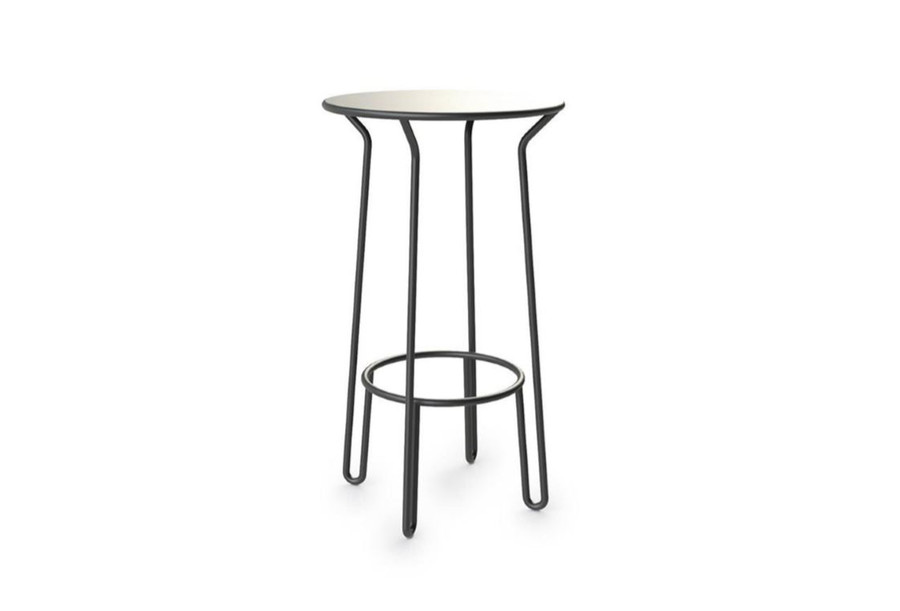 """Maiori huggy bar table. Novel """"no edges"""" styling. Classic French !"""