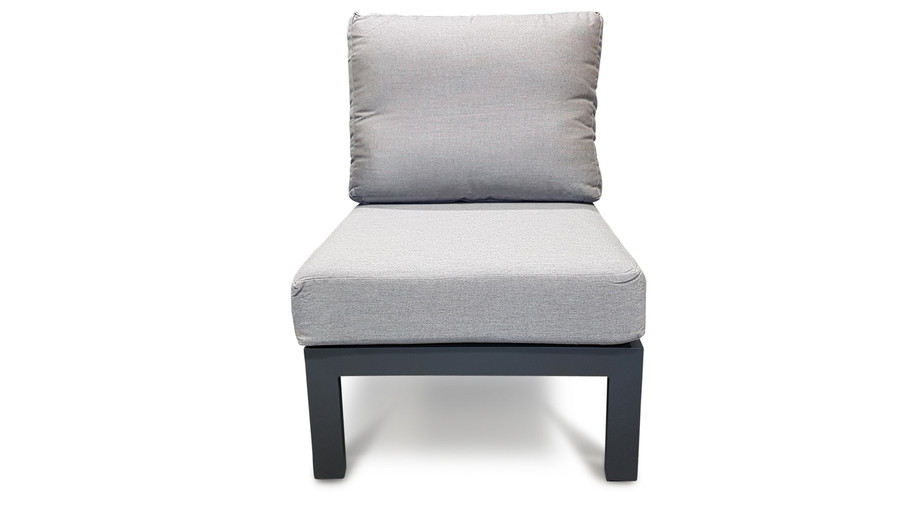 Life Timber outdoor aluminium modular single sofa
