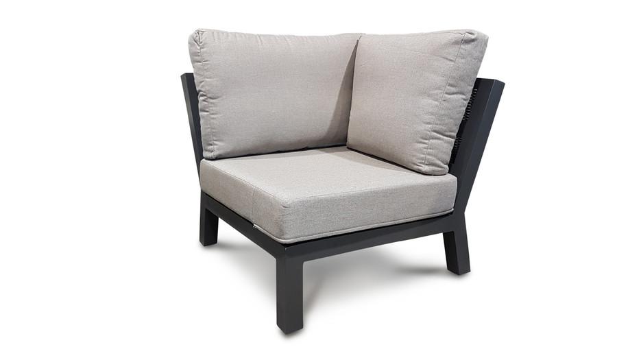 Life Timber outdoor aluminium modular corner sofa