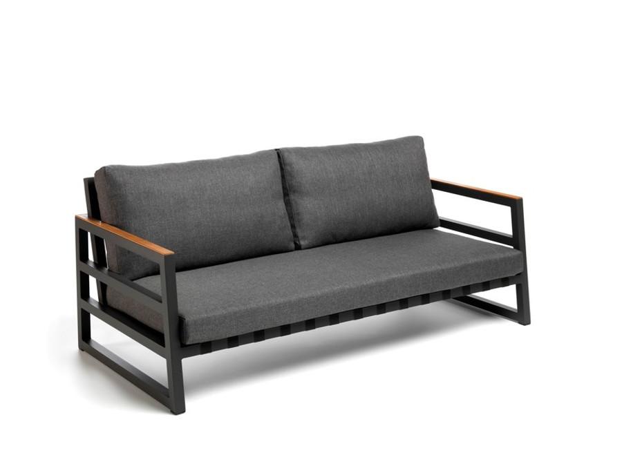 Alabama Alu outdoor sofa by Talenti