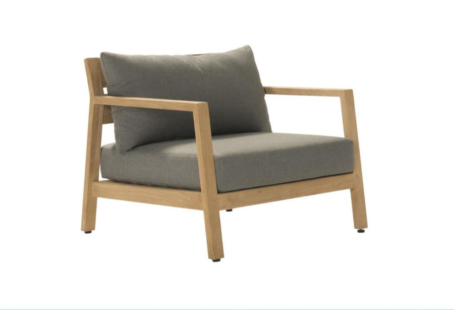 Devon Kisbee teak outdoor lounge chair