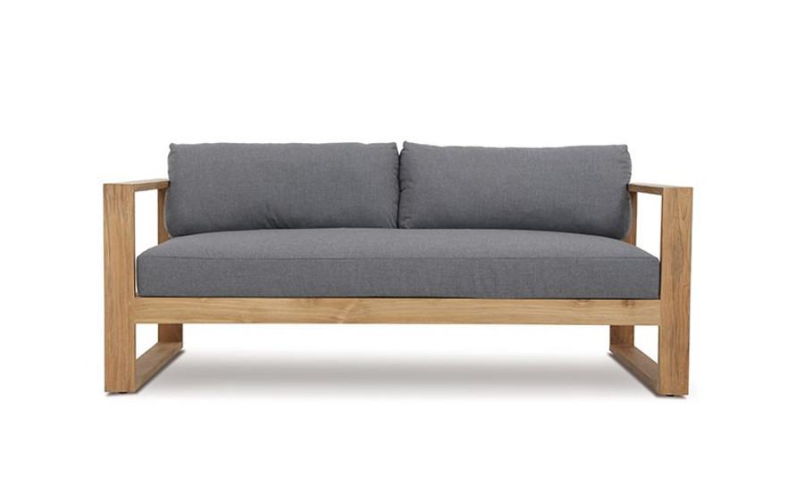 Devon teak Milford outdoor 2.5 person sofa