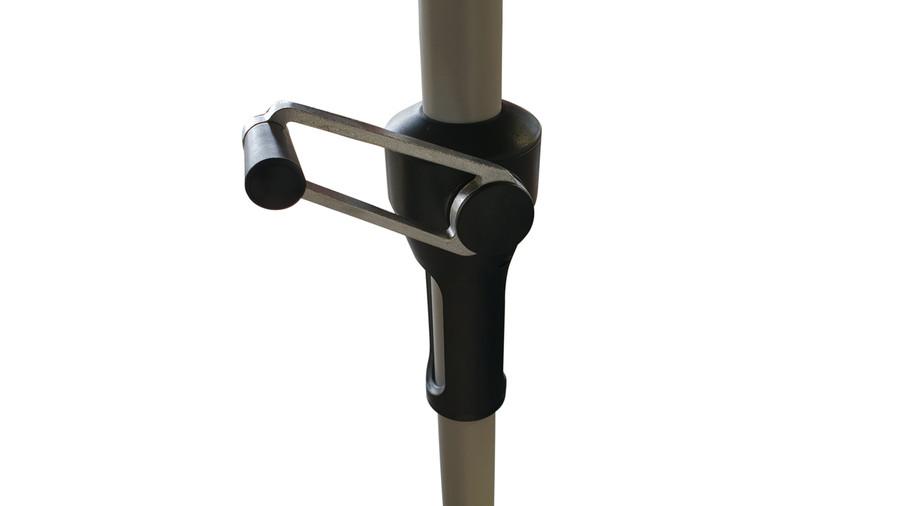 Crank handle of Monza outdoor umbrella