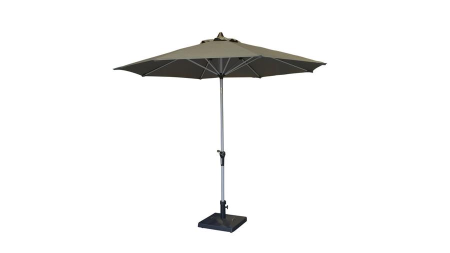 Monza outdoor umbrella in normal position