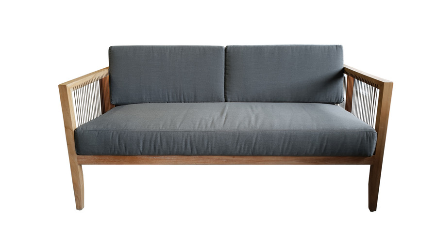Front view of Astoria outdoor sofa
