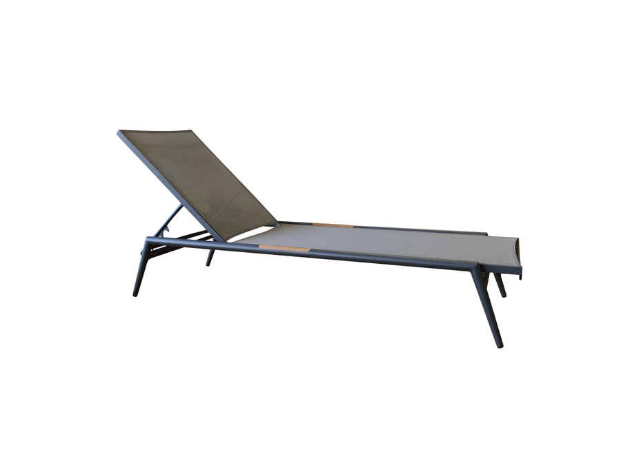 side view of polo sun lounger