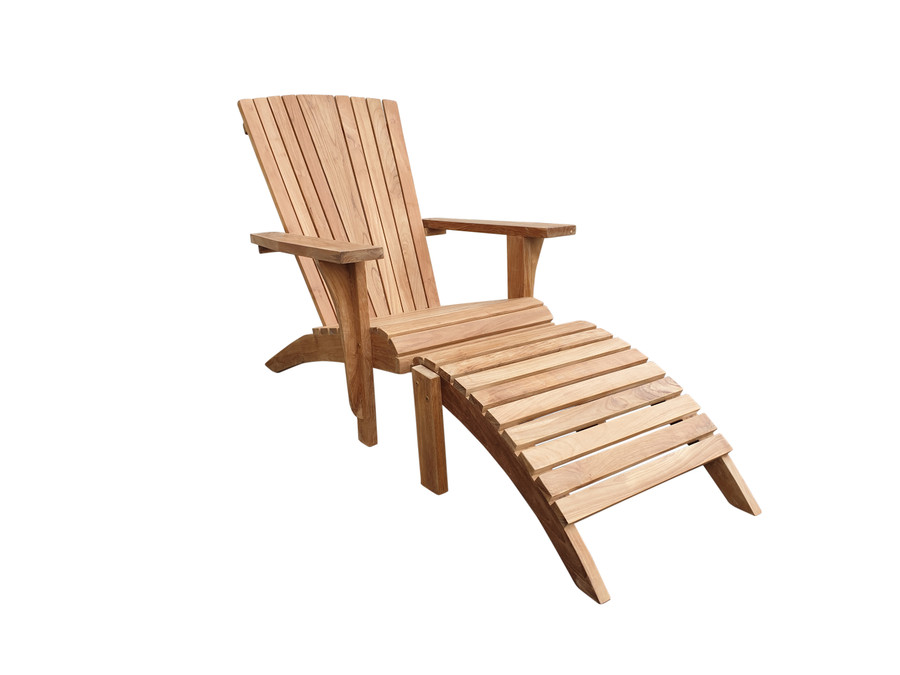 Cape Cod outdoor teak lounge chair
