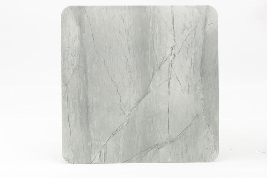 Example of table top finish of Club table in faux marble