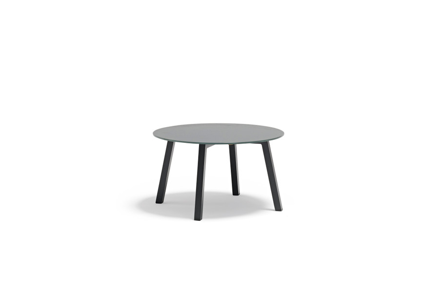 Tiki Outdoor Aluminium and Tempered Glass Side Tables - large
