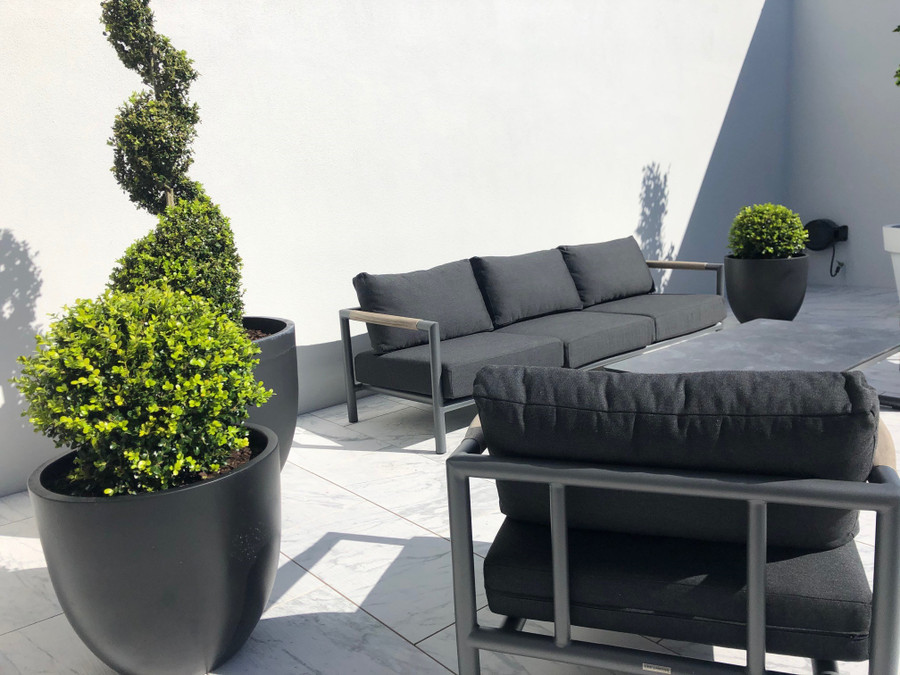 Bastingage 3 person outdoor sofa. Photo courtesy of our Auckland based customers.
