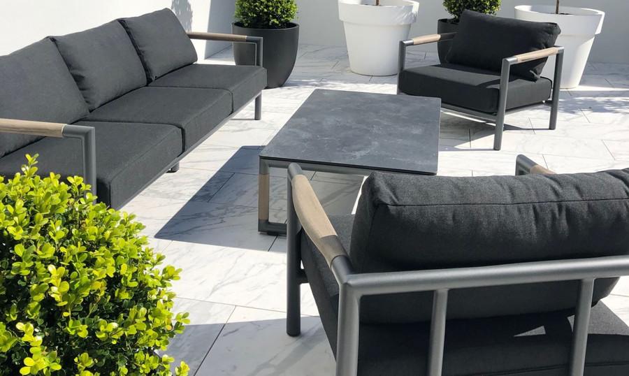Bastingage outdoor lounge set. Photo courtesy of our Auckland based customers.