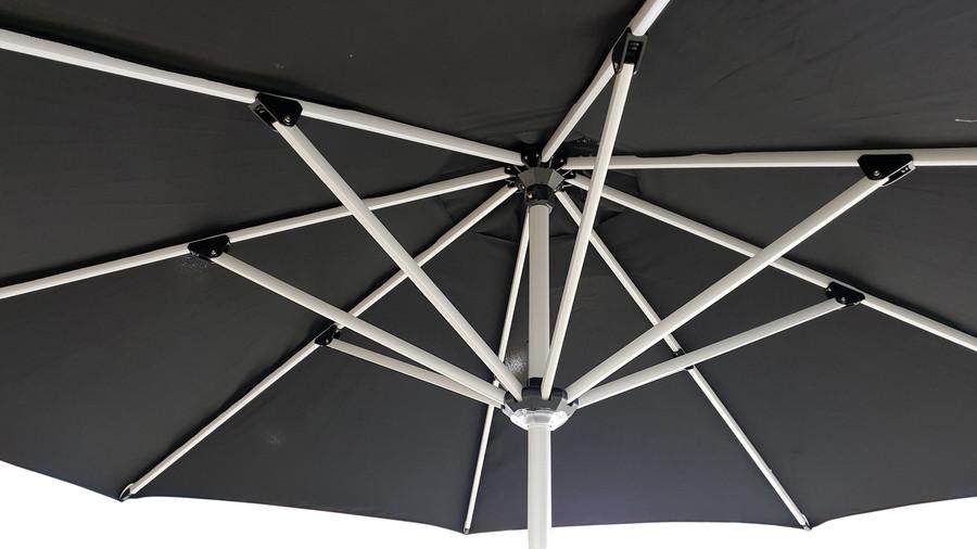 Monza 3.5m umbrella frame structure