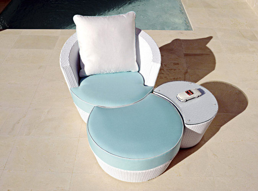 NEW ! Eden Roc now available in white wicker