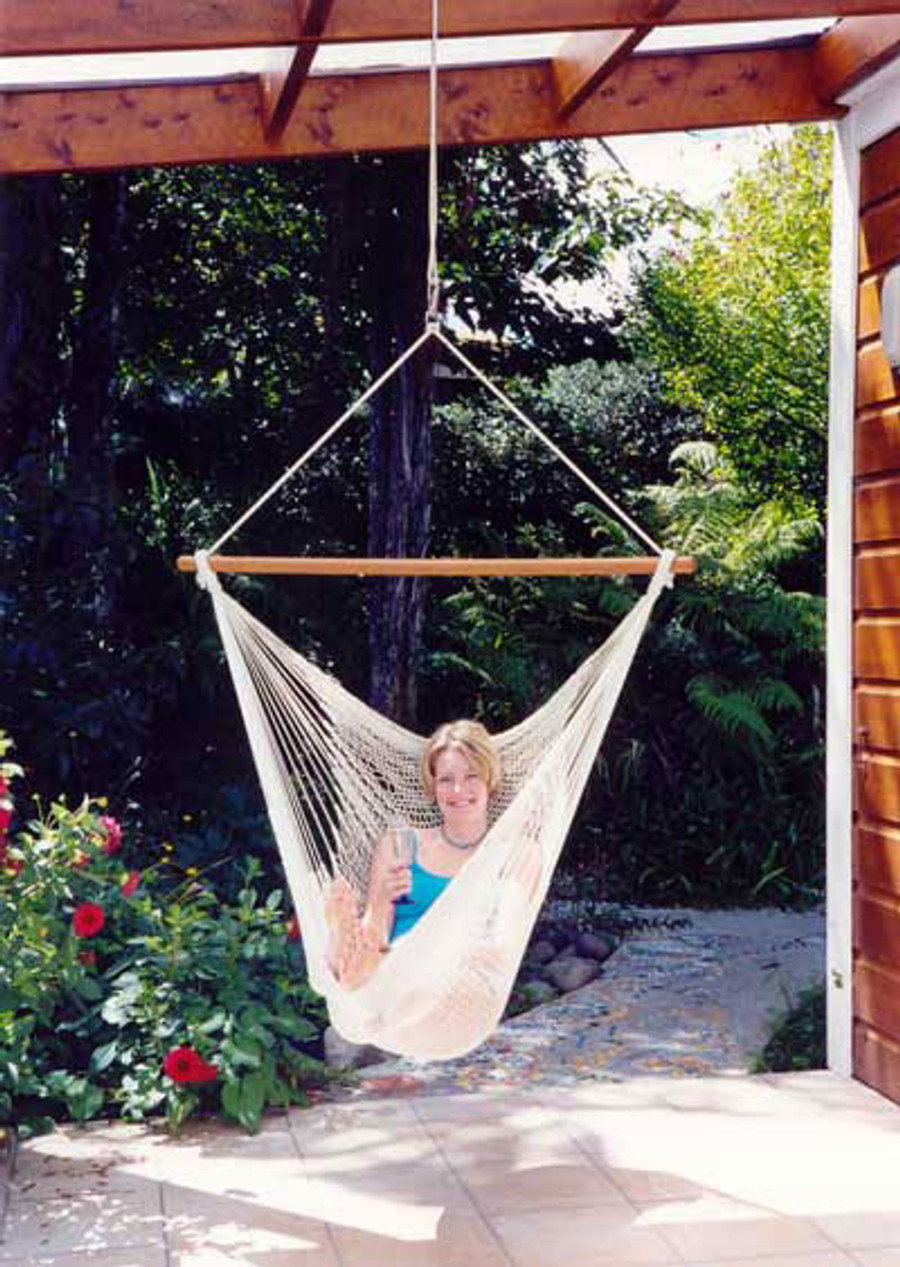 Hammock Recliner - Polyester Outdoor Rope