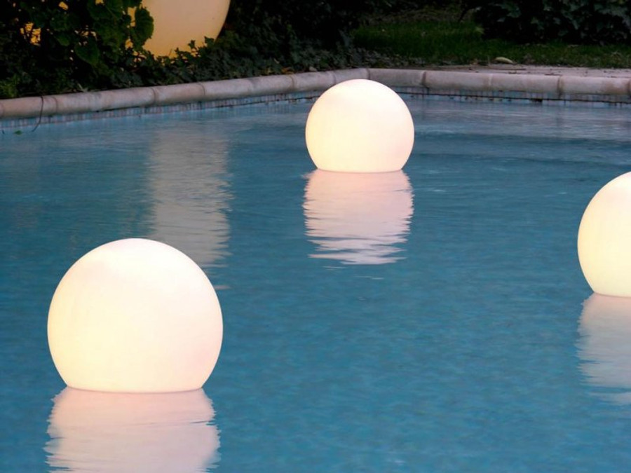 slide aquaglobo pool lights
