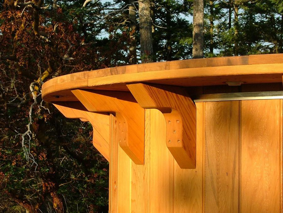 optional cedar shelving