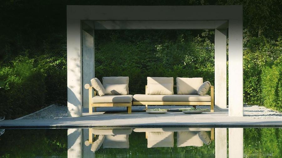 Pure sofa by Tribu