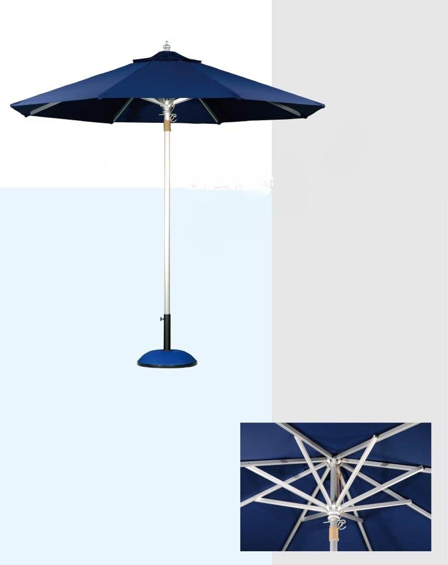 Umbrella Aluminium 3M dia - Rakino by Point