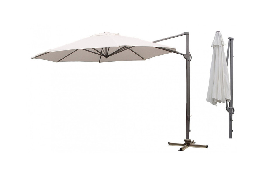 360 sidepost patio umbrella 3.3m dia oct
