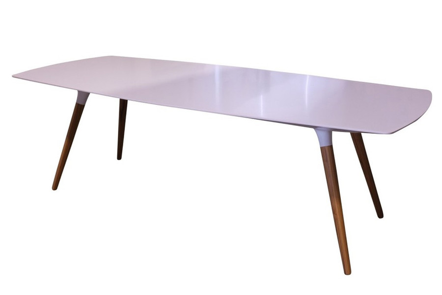 Sky Solid surface outdoor table 2.4 x 1.0 x 0.76