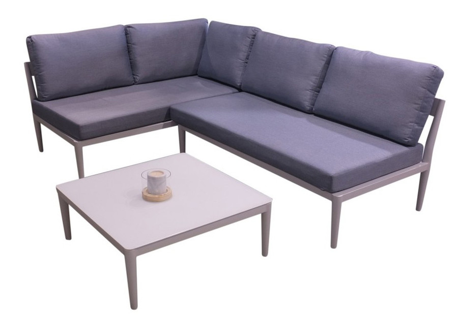 This set includes : left arm module armless module coffee table