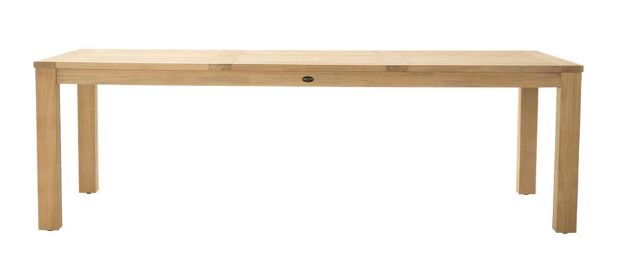 Devon Couper outdoor table - 2.40x1.0m rectangular version
