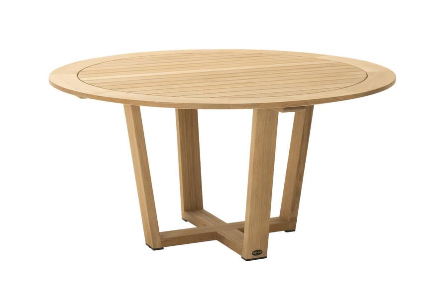 Devon Pegasus outdoor teak round table 1.5m diameter