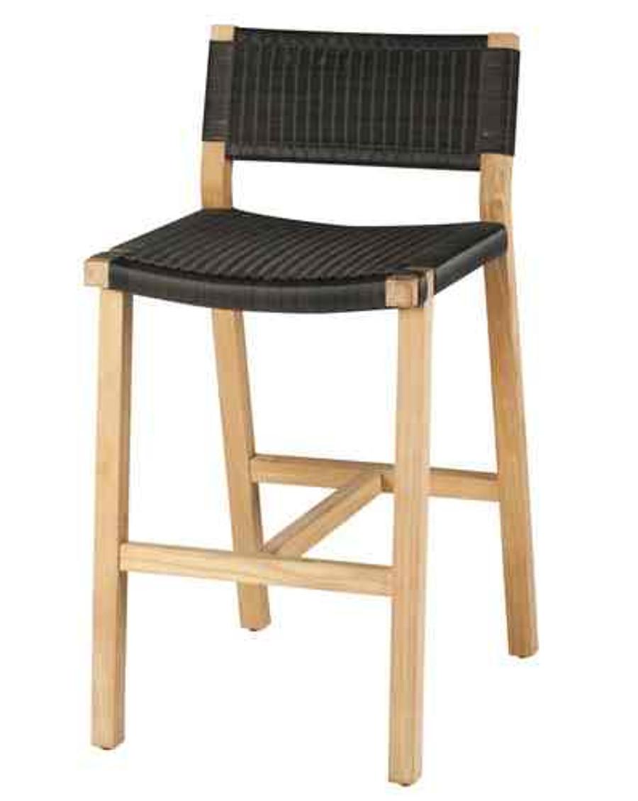 Devon Outdoor Marsden Bar Chairs Teak