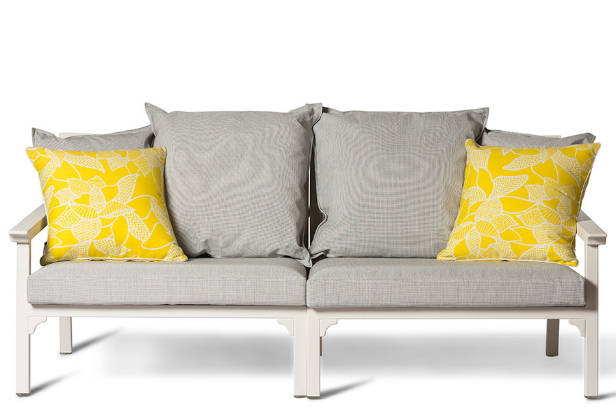 This image shows a left arm sofa and a right arm sofa