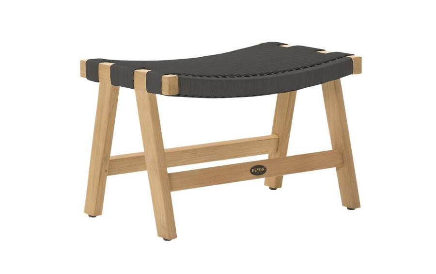 Devon Jackson Easy stool in shadow grey