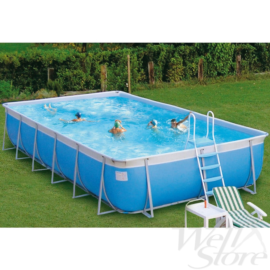 aboveground portable swimming pool for school or commercial use