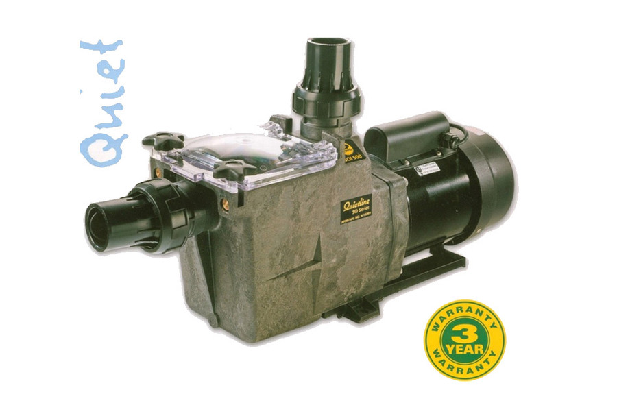 Poolrite Quietline SQI-500 1.25 hp pool pump