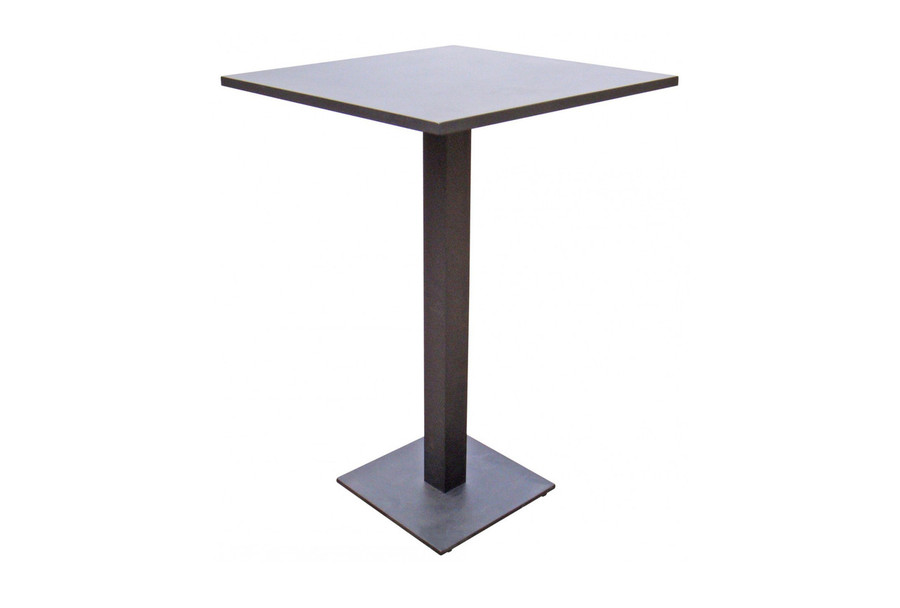 Iris outdoor bar table Iris 70x70 white or charcoal or coffee colour