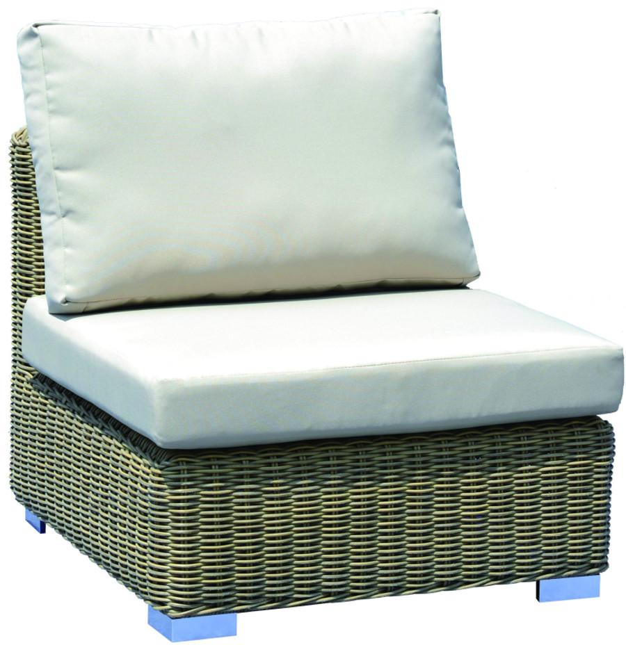Andes modular single outdoor sofa