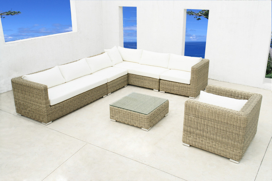 Andes outdoor coffee table