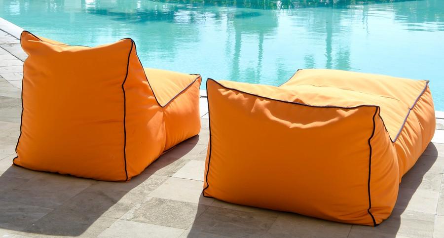 Secret Blend outdoor bean bag lounger